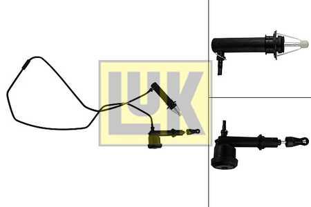 Kupplung 513003010 für LAND ROVER LuK Geber-//Nehmerzylindersatz