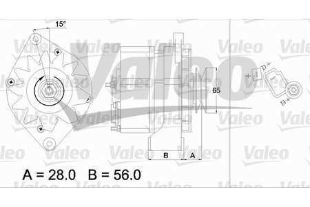 Valeo 436148 Generator