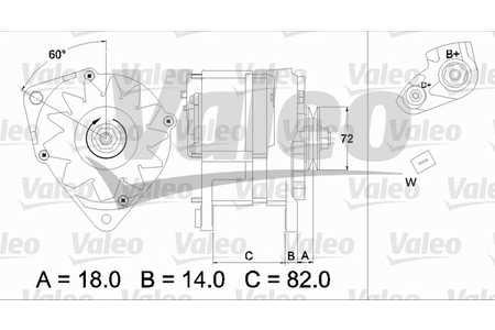 Valeo 436303 Generator
