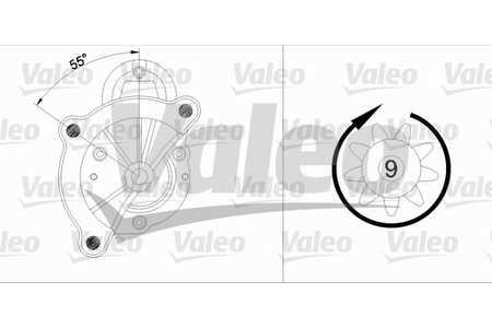 Valeo 455961 Starter