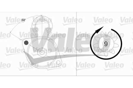 Valeo 458211 Starter
