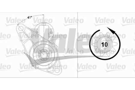 Valeo 458214 Starter