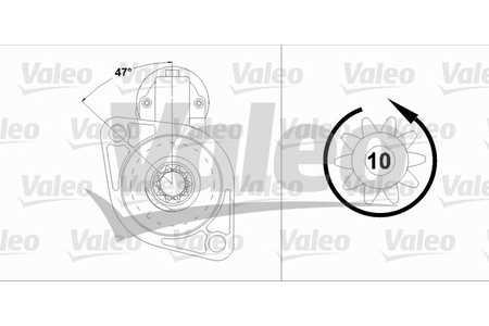 Valeo 458216 Starter