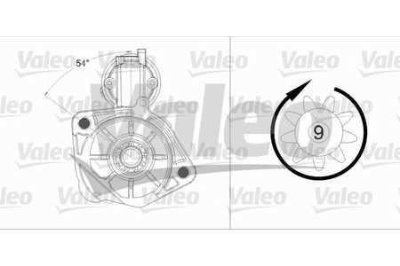 Valeo 458231 Starter