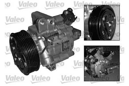 Valeo Kompressor, Klimaanlage