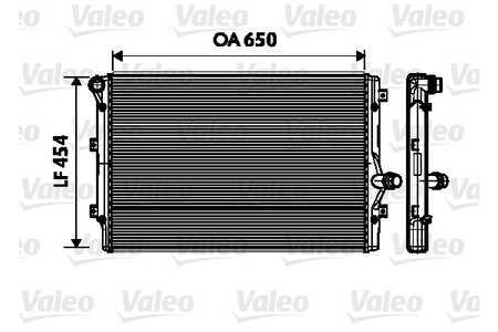 Valeo 734333 Kühler, Motorkühlung