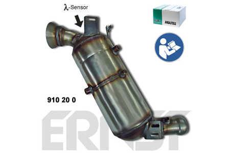 Ernst 910200 Ruß-/Partikelfilter, Abgasanlage