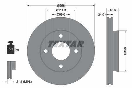 Mercedes Smart Forfour 1.1 1.5 Disques De Frein Plaquettes Avant 2004-2007