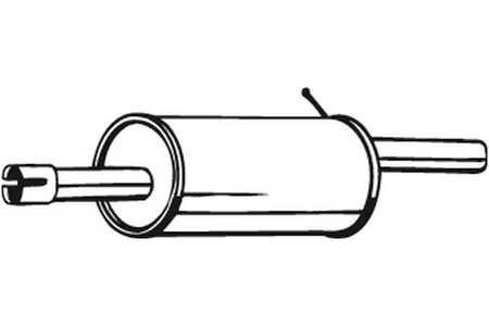 Bosal 200-555 Endschalldämpfer