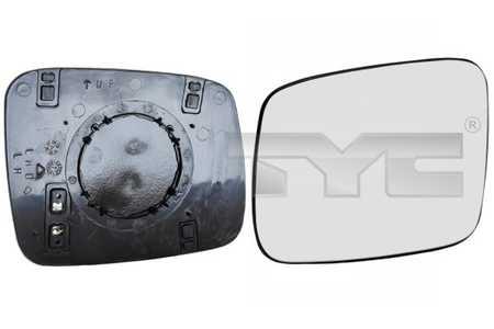 Außenspiegel für Karosserie TYC 337-0083