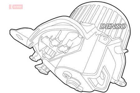 DEA01011 für ALFA ROMEO MITOGebläse DensoInnenraumgebläse