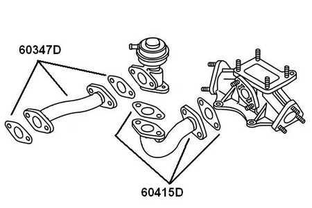 AGR Verschlussplatte Dichtung Abgasrückführung für AUDI A4 B7 B8 B9 2.7 3.0 TDI