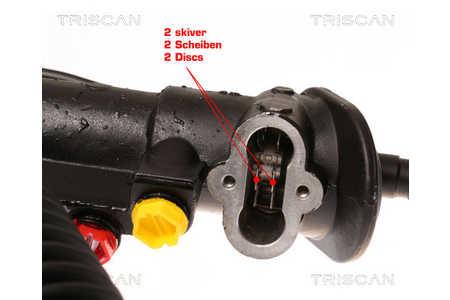 Triscan 8510 29437 Lenkgetriebe