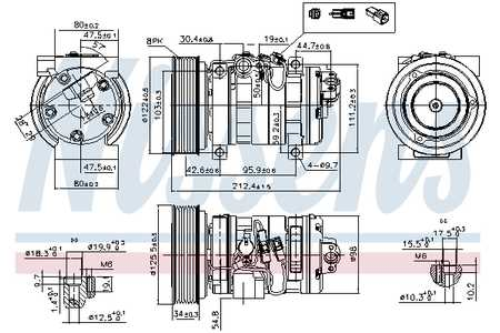 kältemittelkompressor, klimakompressor (kältemittelkompressor) für