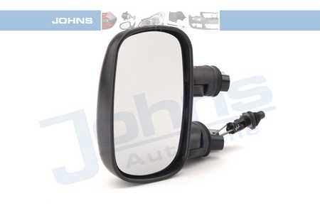 Johns 30513715 Aussenspiegel konvex links schwarz FIAT DOBLO (auc