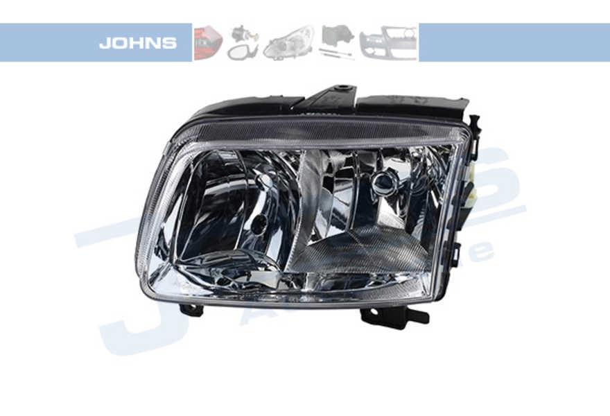 JOHNS 952509 SCHEINWERFER H7 H1 links Leuchtweitenregulierung