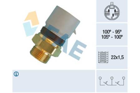 FAE Thermoschalter Opel VECTRA B 1.6-2.6i/16V/V6 2.0Di