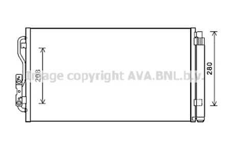 Secadora BMW 1er F20 F21 1.6-3.0 Desde 2010 Aire Frío Condensador de Aire Incl