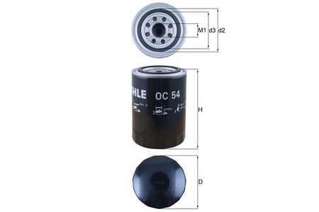 Mahle OC 54 Ölfilter