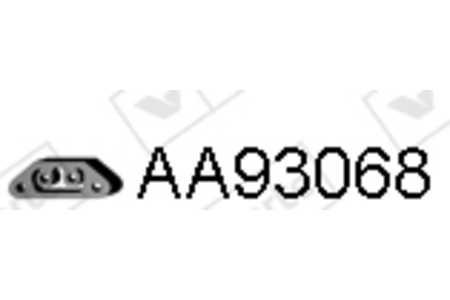 Dichtung Abgaskrümmer für Zylinderkopf ELRING 448.510