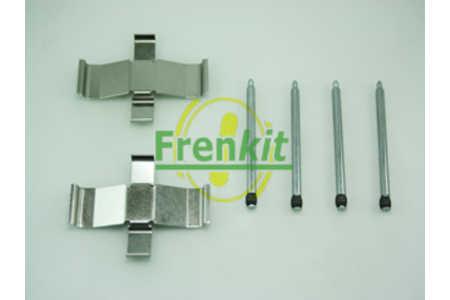 Scheibenbremsbelag QUICK BRAKE 109-0945 Zubehörsatz