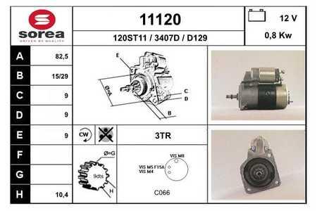 EAI 11120 Anlasser