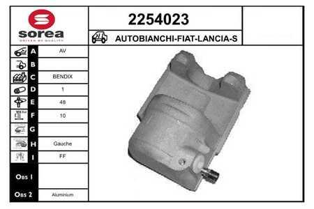 EAI 2254023 AUTOBIANCHI-FIAT-LANCIA-SEAT-ZASTAVA