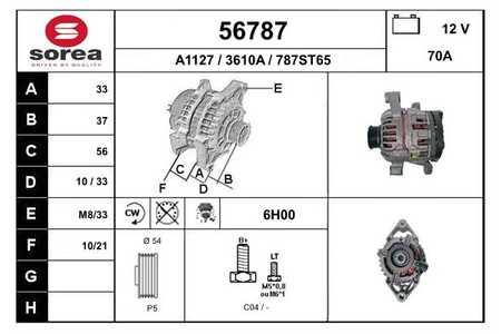 EAI 56787 LICHTMASCHINE VL / ASTRA/ZAFIRA-Enthält bereits 30